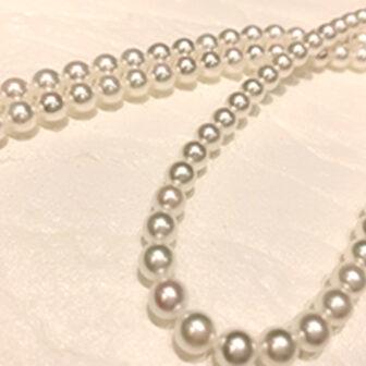 神戸三ノ宮真珠ネックレス