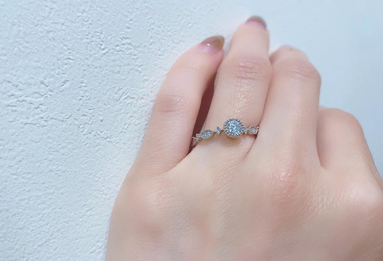 婚約指輪 アンティーク
