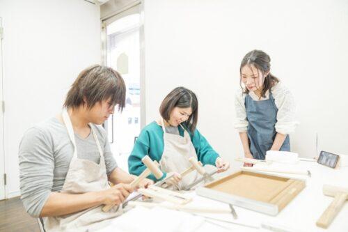 手作りペアリングの作業工程1