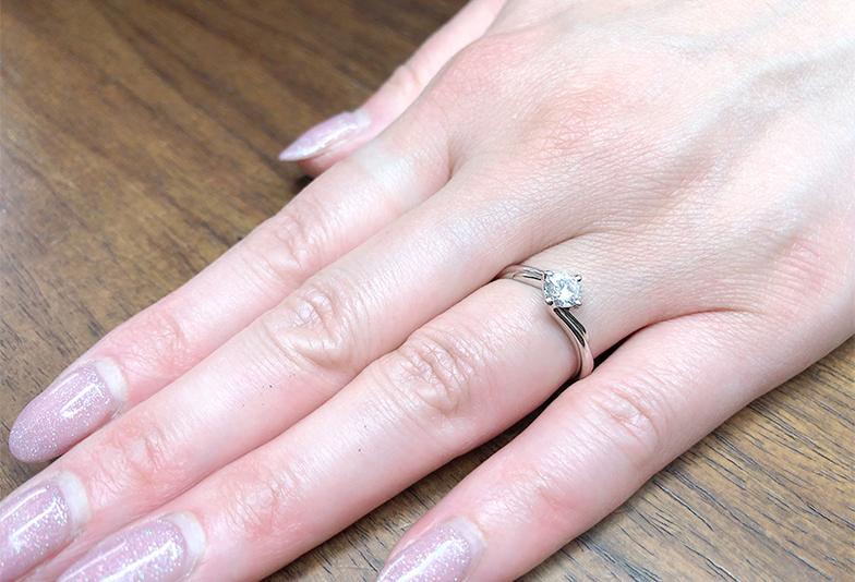 ジュエリーリフォーム 婚約指輪