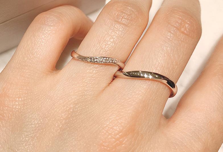 静岡市結婚指輪 素材