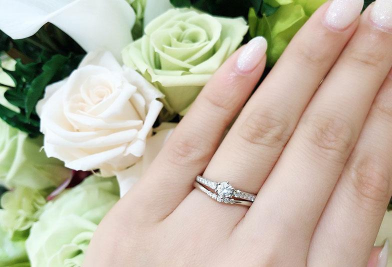 婚約指輪 モナムール