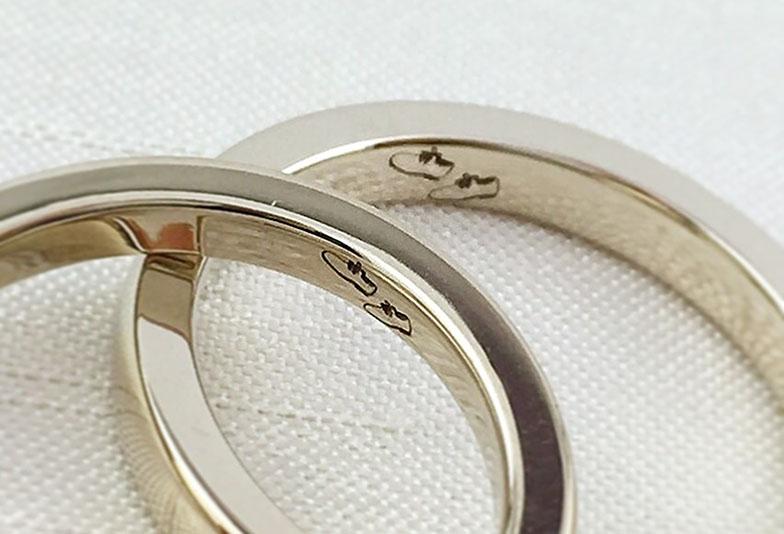 浜松市結婚指輪オーダーメイドオリジナル刻印