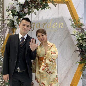 京都市|ハワイアンジュエリー マイレの結婚指輪をご成約いただきました