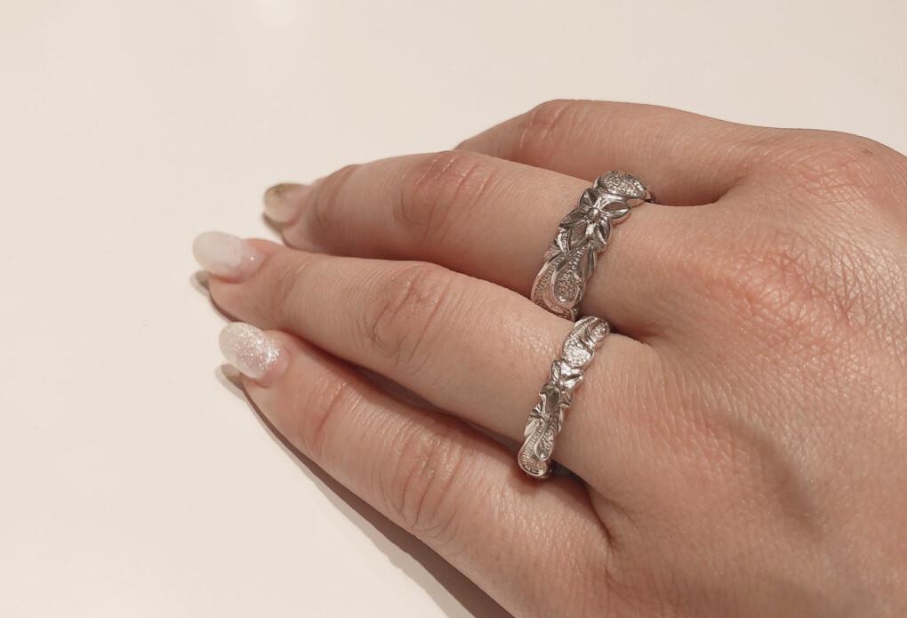 結婚指輪 ハワイアンジュエリー 形状