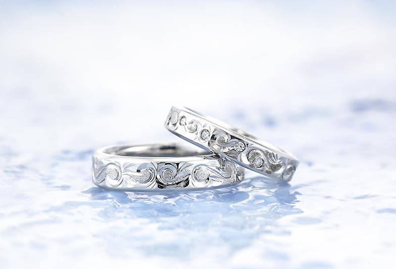 静岡市結婚指輪個性的