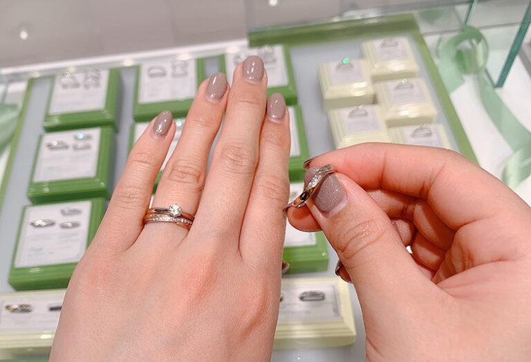 浜松 結婚指輪 店舗試着