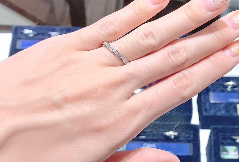 静岡市結婚指輪ゴージャス