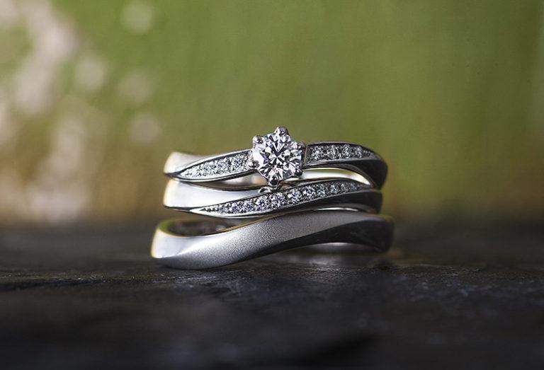 彩乃端婚約指輪、結婚指輪