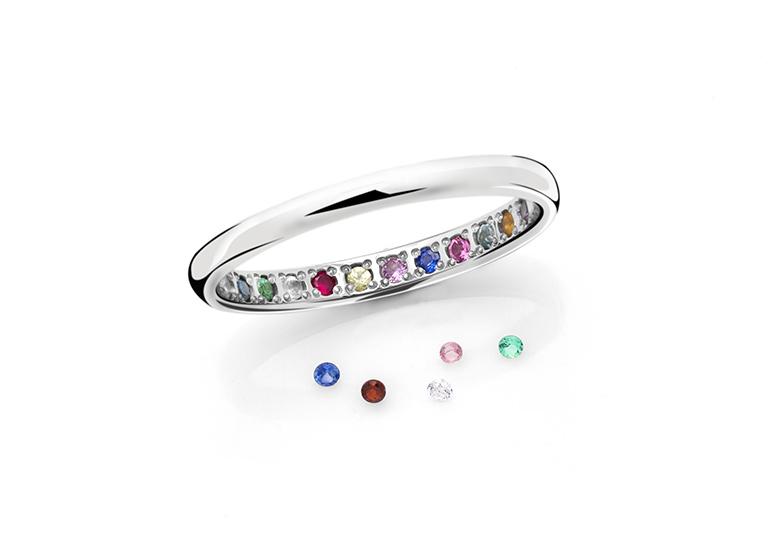 浜松市結婚指輪誕生石