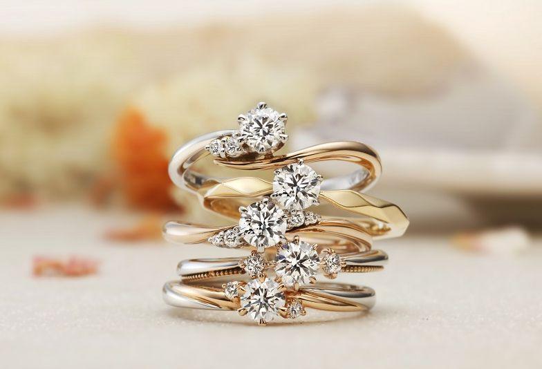 和歌山婚約指輪お洒落にリフォーム