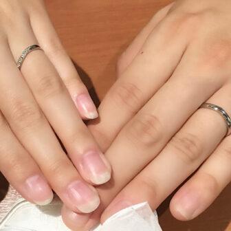 福島県福島市 いい夫婦のご結婚指輪をご成約のお客様
