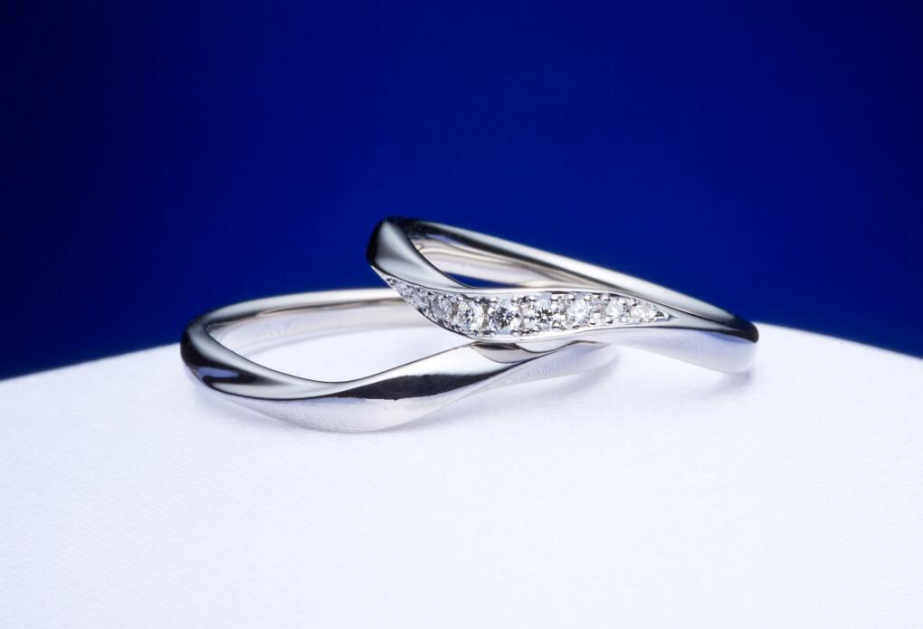 静岡市結婚指輪ダイヤモンド