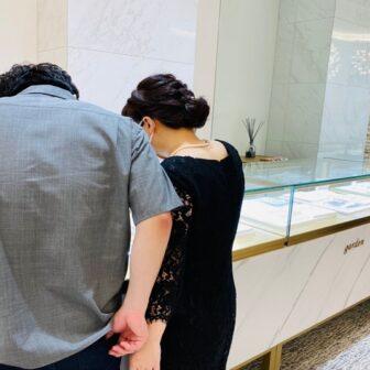 東京都・奈良県|丈夫でオシャレなFISCHERの結婚指輪をご成約いただきました。