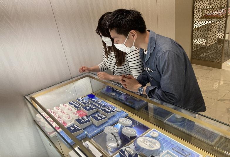 京都市伏見区 ノクルの結婚指輪をご成約いただきました