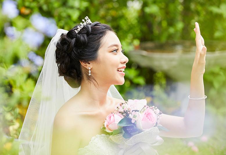 結婚指輪 ハーフエタニティリング