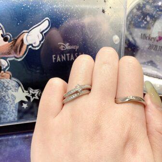 ディズニー結婚指輪