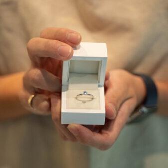 手作り婚約指輪のイメージ