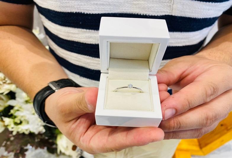 京都府八幡市|リトルガーデンの婚約指輪をご成約いただきました
