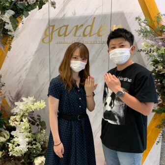 滋賀県大津市|ディズニープリンセスシリーズシンデレラの結婚指輪をご成約いただきました