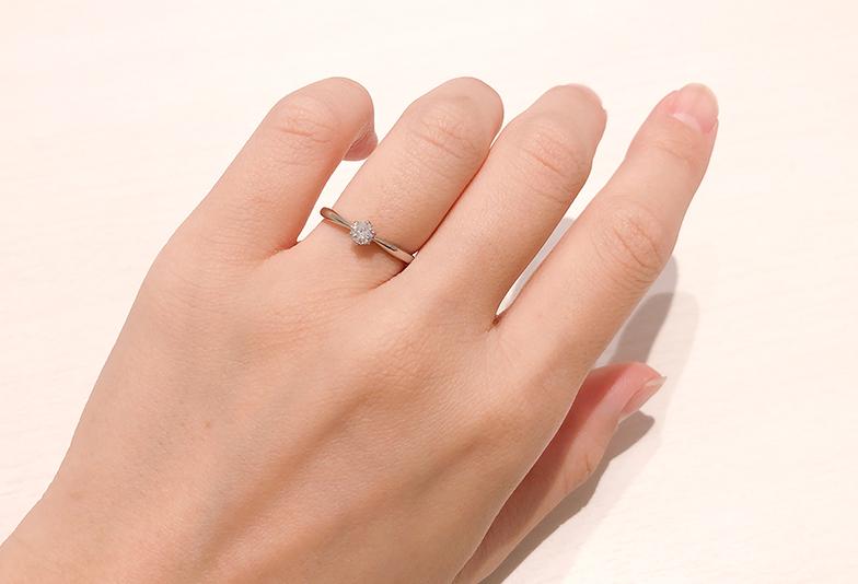 0.2〜0.3カラットのダイヤモンド