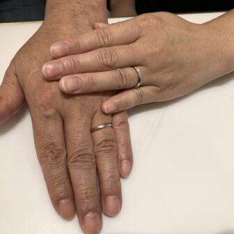 京都府城陽市|エトルの結婚指輪(マリッジリング)をご成約いただきました