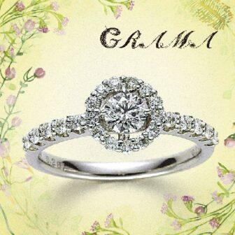 グラマの婚約指輪でジャスミン