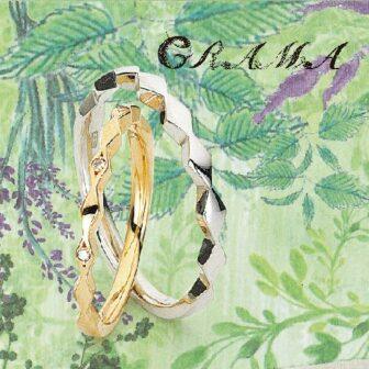 グラマの結婚指輪でサンフラワー