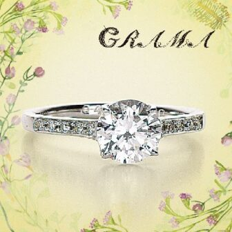 グラマの婚約指輪でバジル