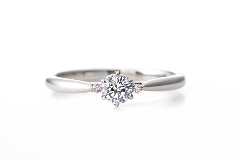 婚約指輪 ピンクダイヤモンド