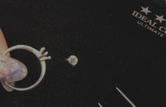 【京都府・大丸前】婚約指輪には世界で最も輝きの強い最高峰のアイデアルダイヤモンドを