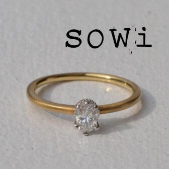 ソーイの婚約指輪ですらり