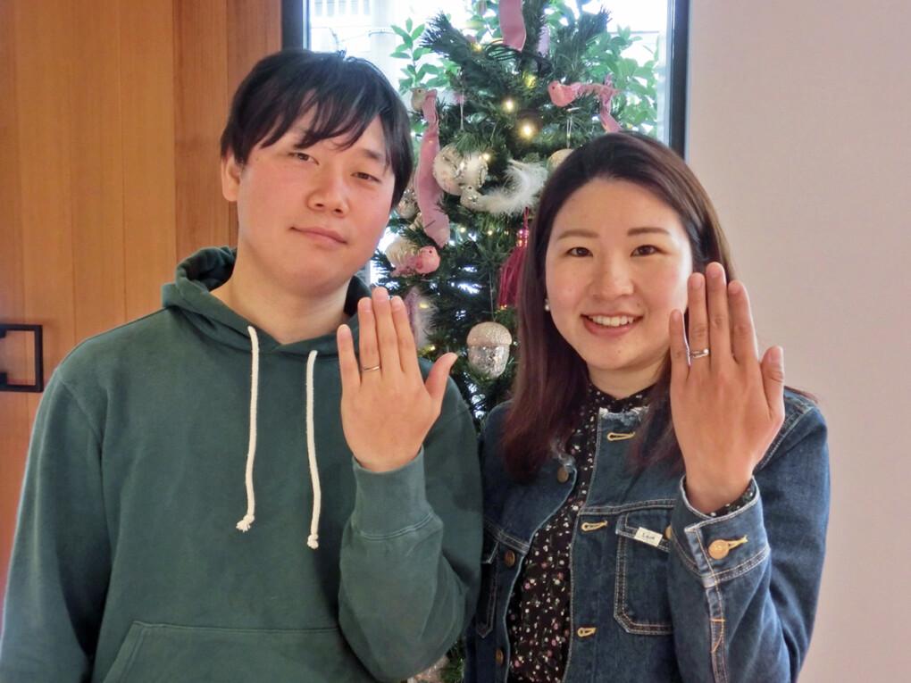 広島県・廿日市市 この店で、最高の指輪と出会えました!!
