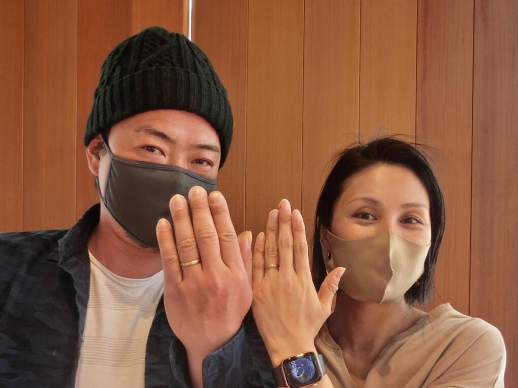広島県・安芸郡 イメージを超える結婚指輪がみつかりました