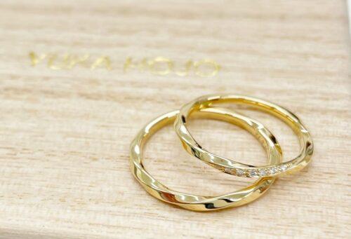 京都四条で人気な結婚指輪ブランド ユカホウジョウ YUKA HOJO