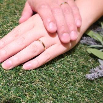 【奈良県大和郡山市/大阪府東成区 】FISCHER(フィッシャー)の結婚指輪をご成約頂きました。
