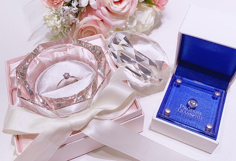 プロポーズアイテム婚約指輪