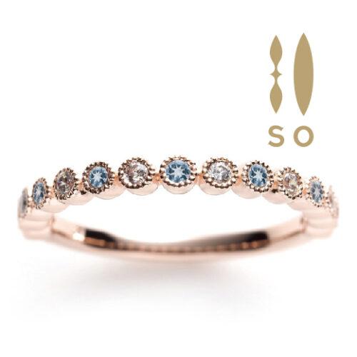南大阪アクアマリンの指輪