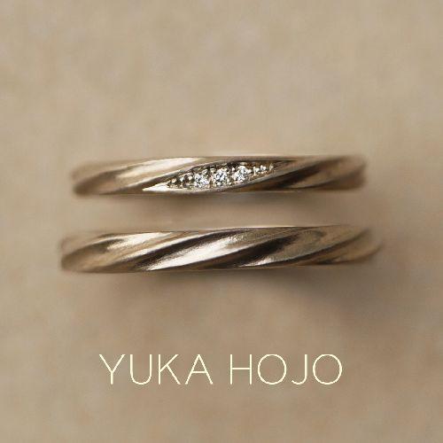 YUKAHOJOの結婚指輪
