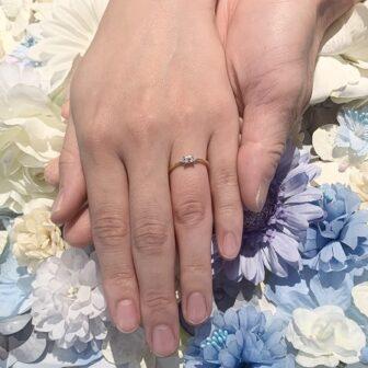 【札幌市】RosettE(ロゼット)の婚約指輪をご成約頂きました。