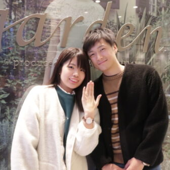 【東京都板橋区】AbHeri(アベリ)の婚約指輪をご成約頂きました。