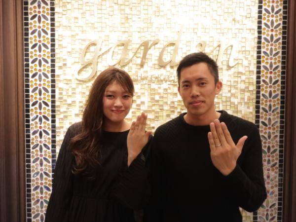 【大阪府堺市北区】FISCHER(フィッシャー)・ORECCHIO(オレッキオ)の結婚指輪をご成約頂きました。