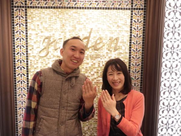 【大阪府堺市北区】CHERLUV(シェールラブ)の結婚指輪をご成約頂きました。