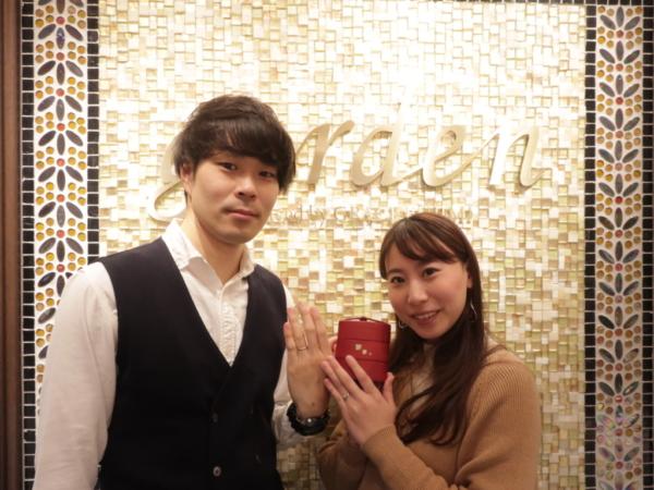 【兵庫県尼崎市】PRIMAPORTA(プリマポルタ)の婚約指輪とひなの結婚指輪
