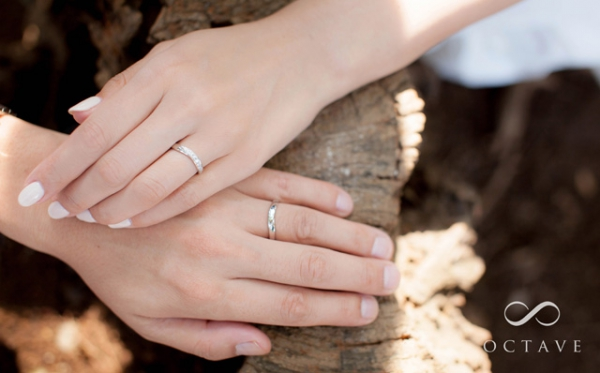 OCTAVEの結婚指輪